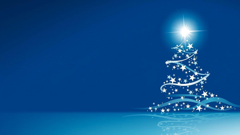 Blue Christmas Wallpaper image