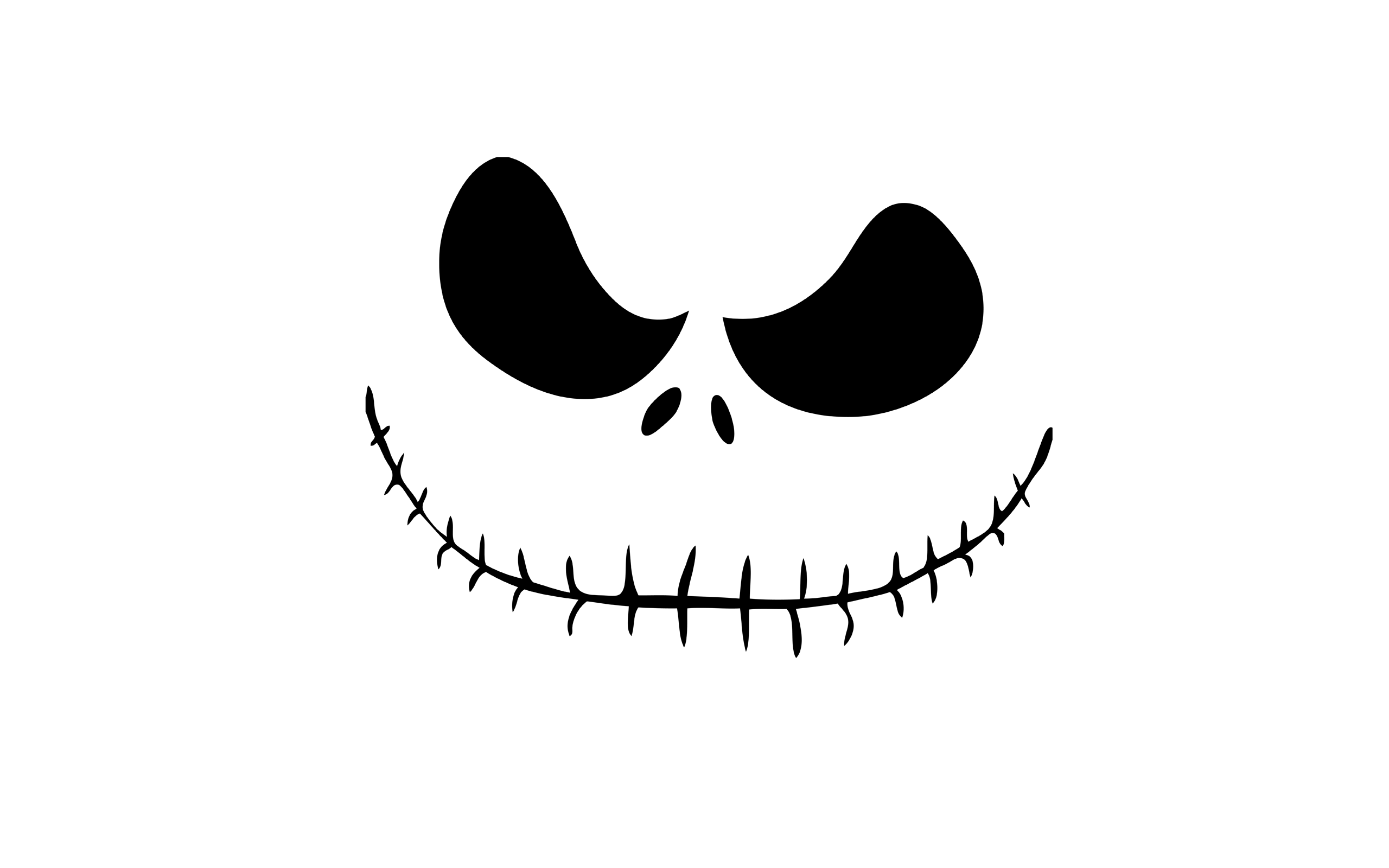 jack skellington face template - jack skellington wallpapers wallpaper cave