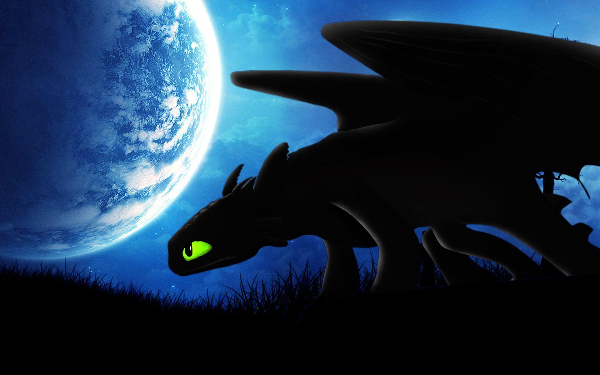 HOW TO TRAIN YOUR DRAGON 2 Night Fury Wallpapers