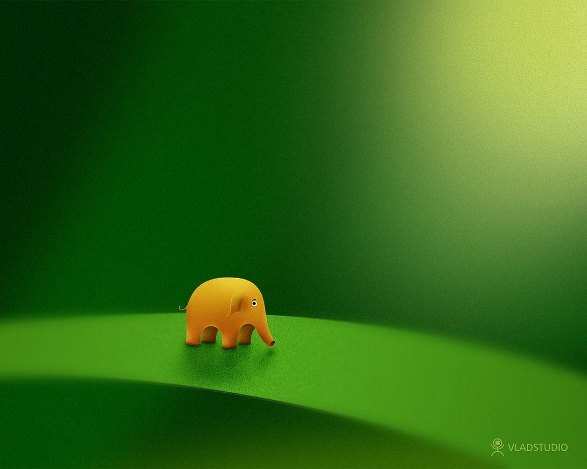 1152x864 Micro elephant desktop PC and Mac wallpapers