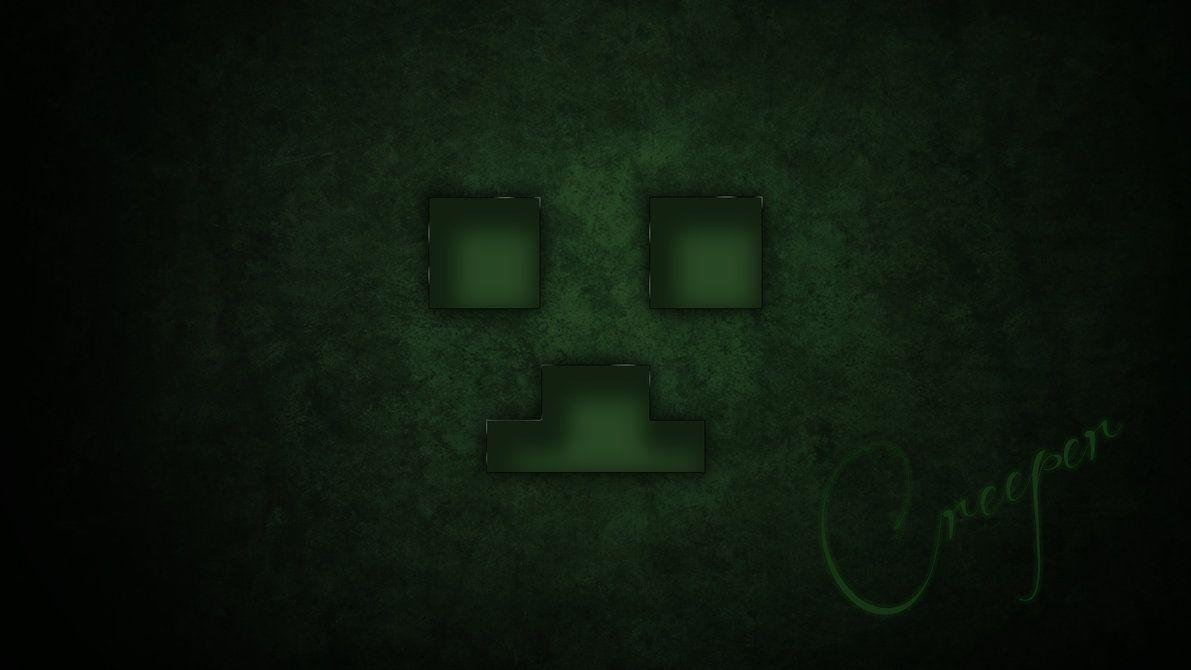 "Creeper Face Wallpaper ""For Minecon"" by xatlox on DeviantArt"