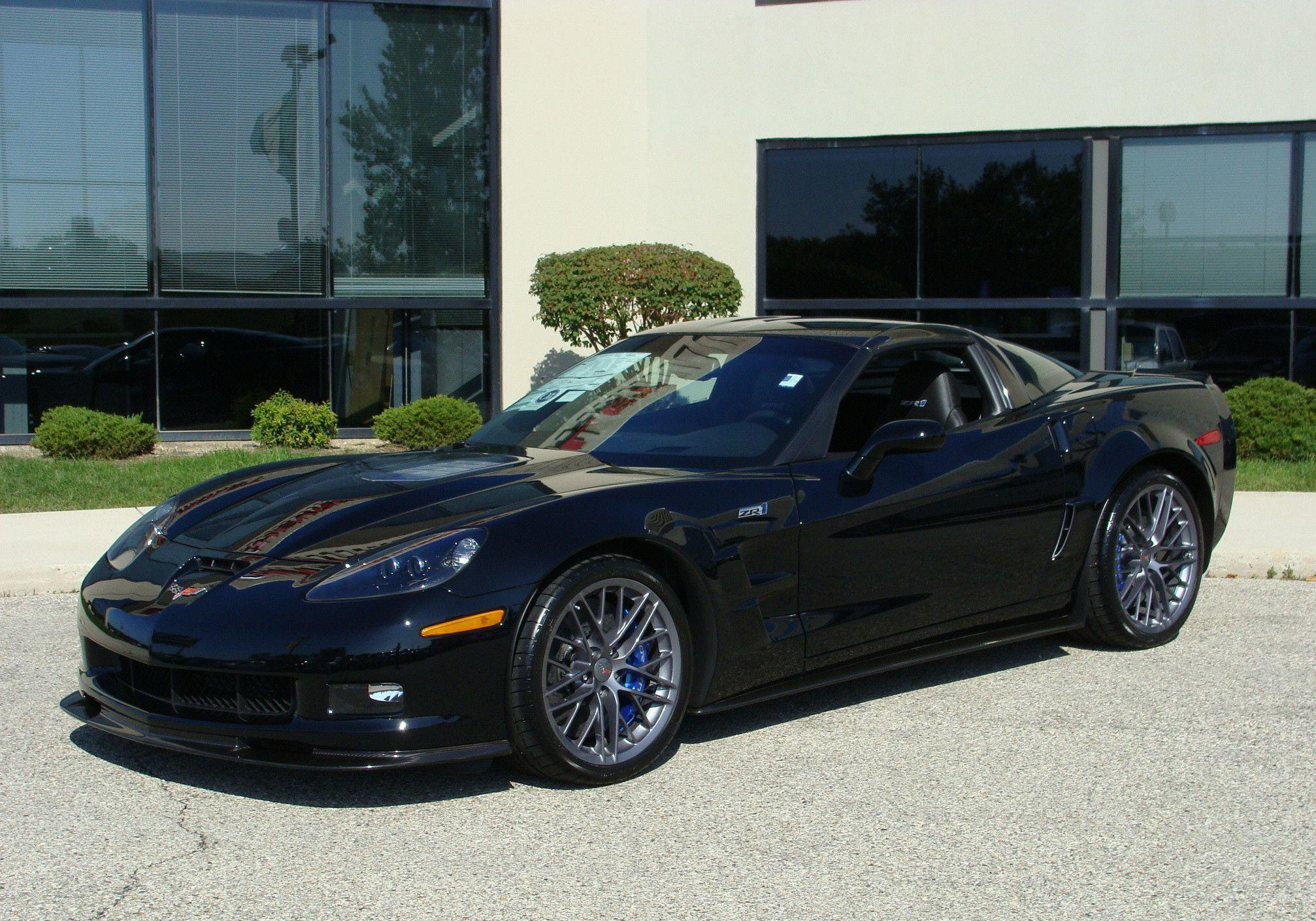 black corvette zr1 wallpapers - photo #12