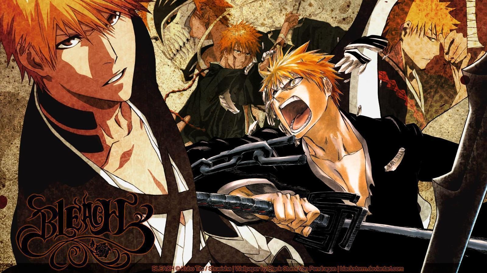 BLEACH: Kurosaki Ichigo wallpaper 01 by blackstorm on DeviantArt
