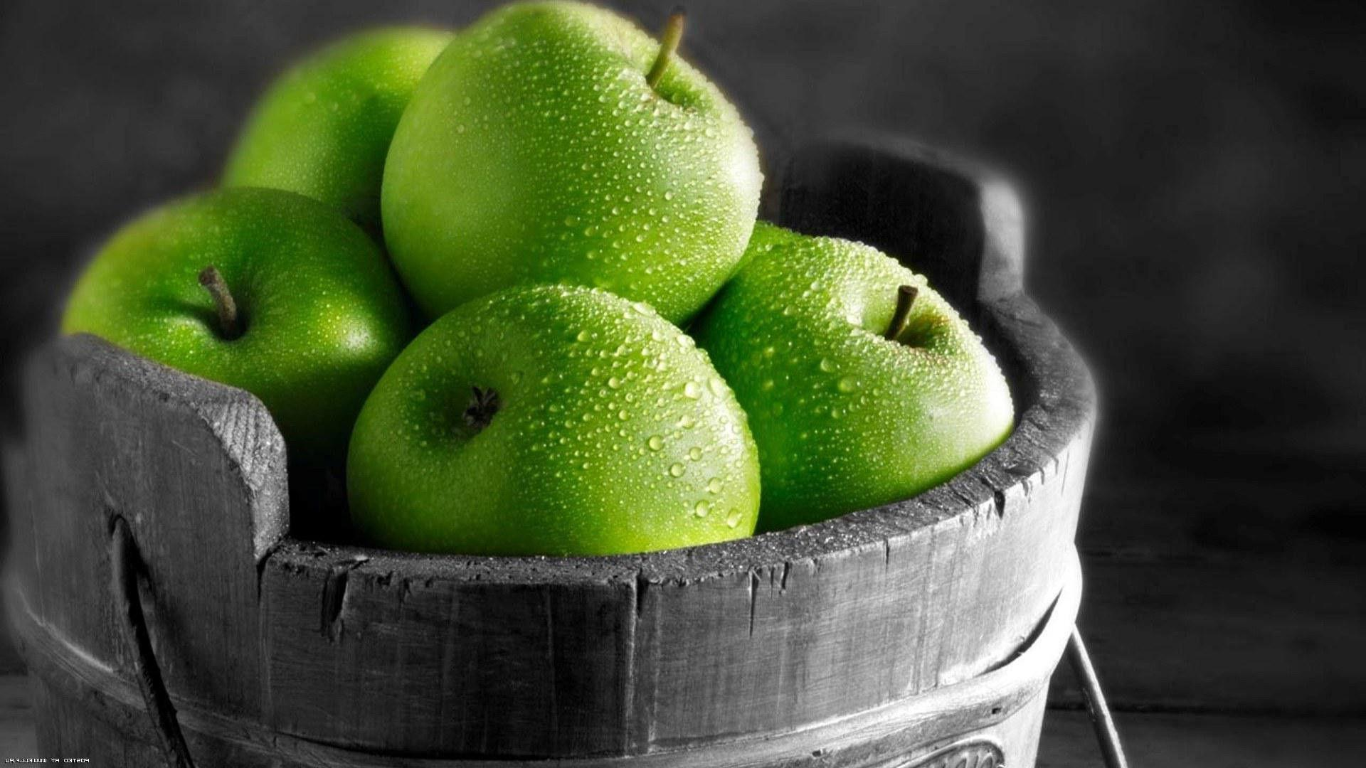 Image result for green apple wallpaper