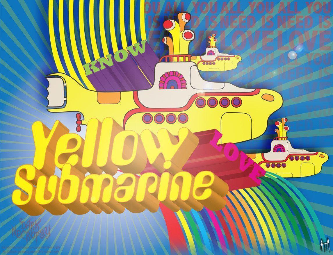 Yellow submarine Wallpapers by VomitoryFecalius