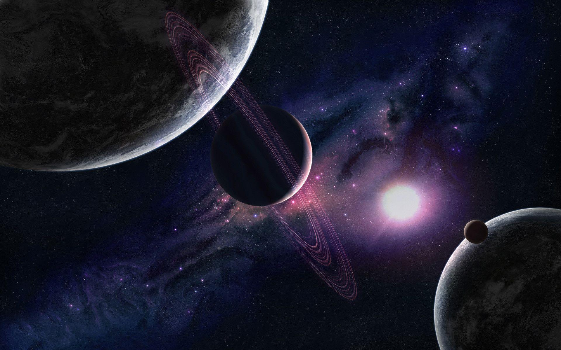 planets solar system wallpaper 1920x1200 - photo #12
