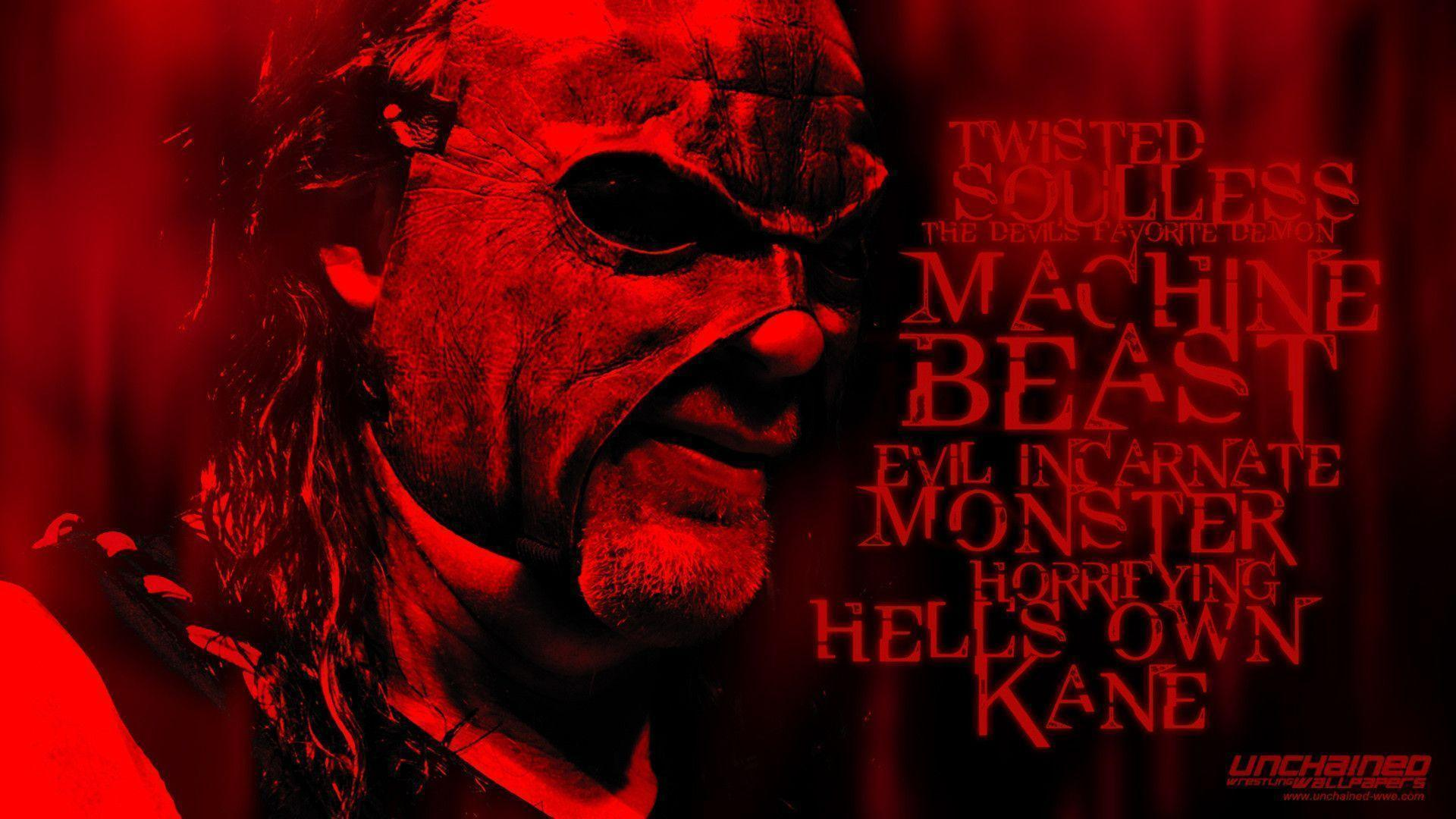 "WWE Kane ""Resurrected"" Wallpapers ~ Unchained"