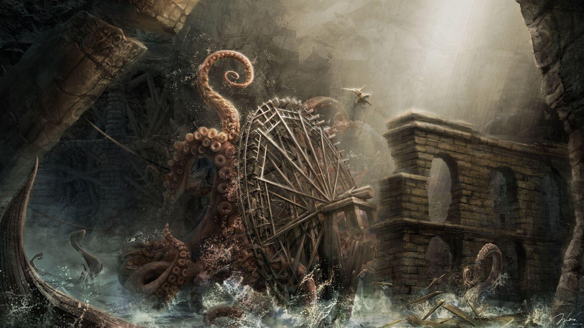 kraken wallpaper wallpapers jhonyvelascojpg - photo #2