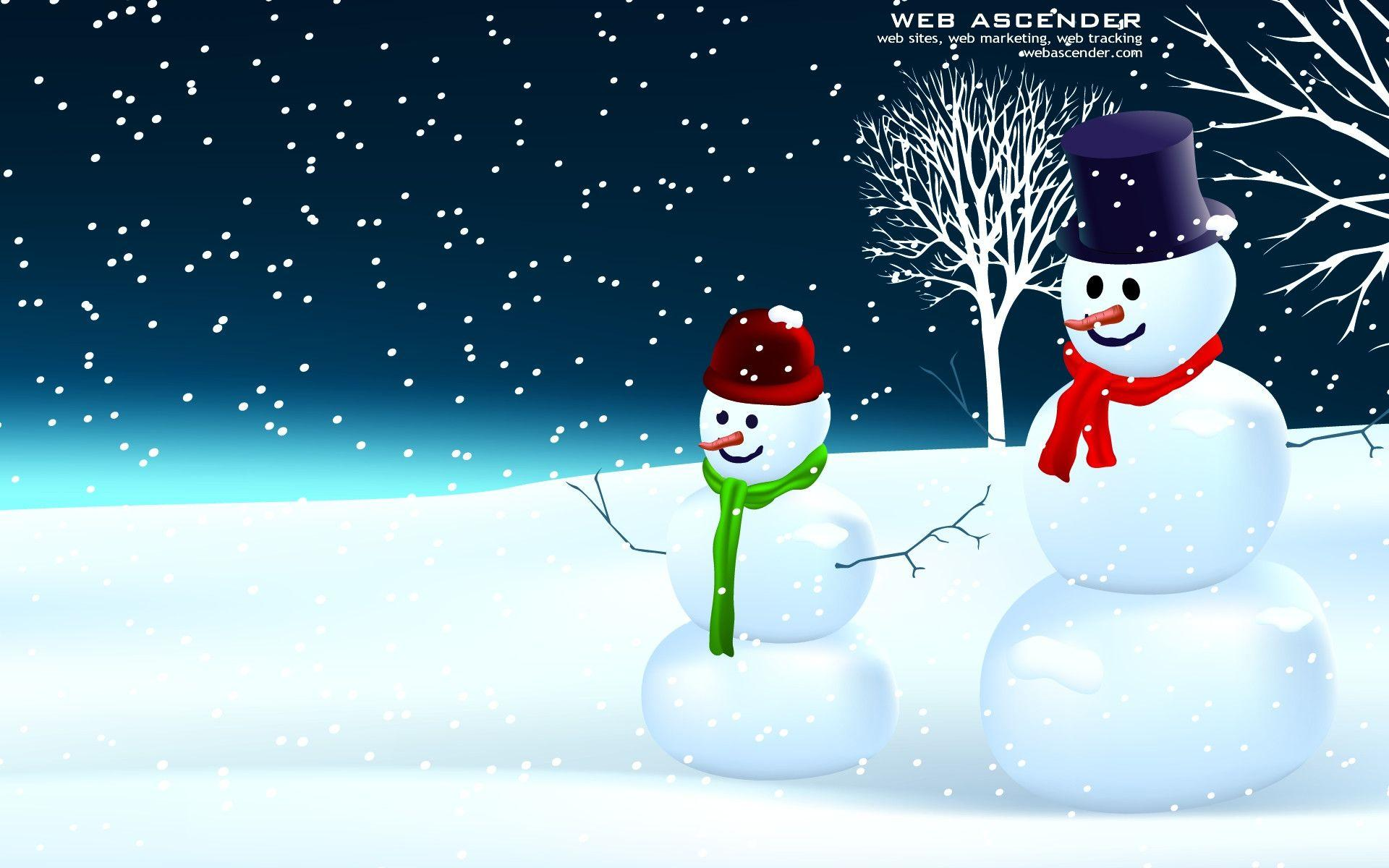 images of snowman desktop background - #spacehero