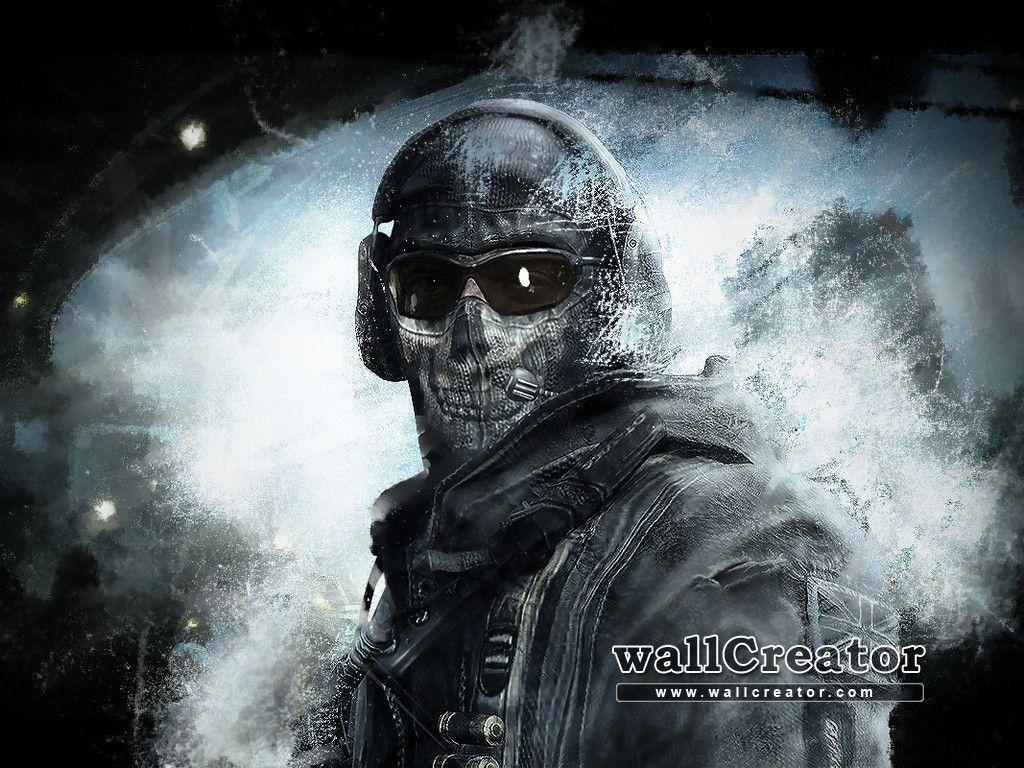 Mw2 Ghost Wallpapers Wallpaper Cave