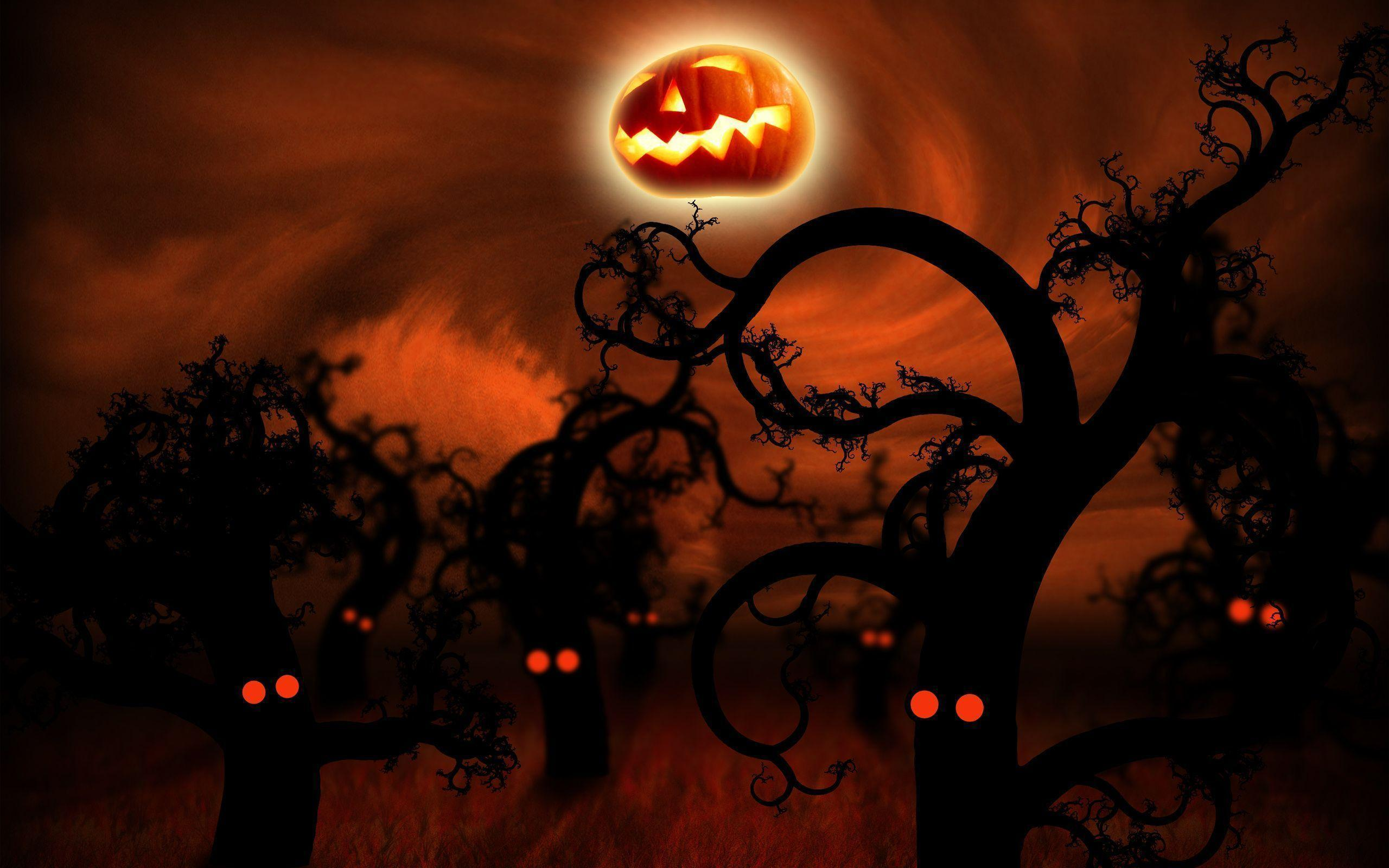 40 Sizzling Halloween Wallpapers