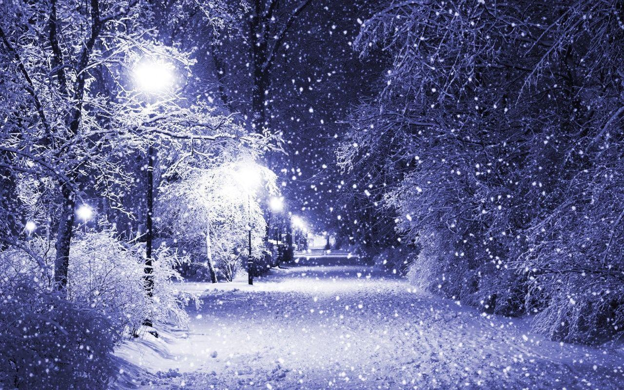 Wallpapers For > Snow Falling Wallpaper Backgrounds