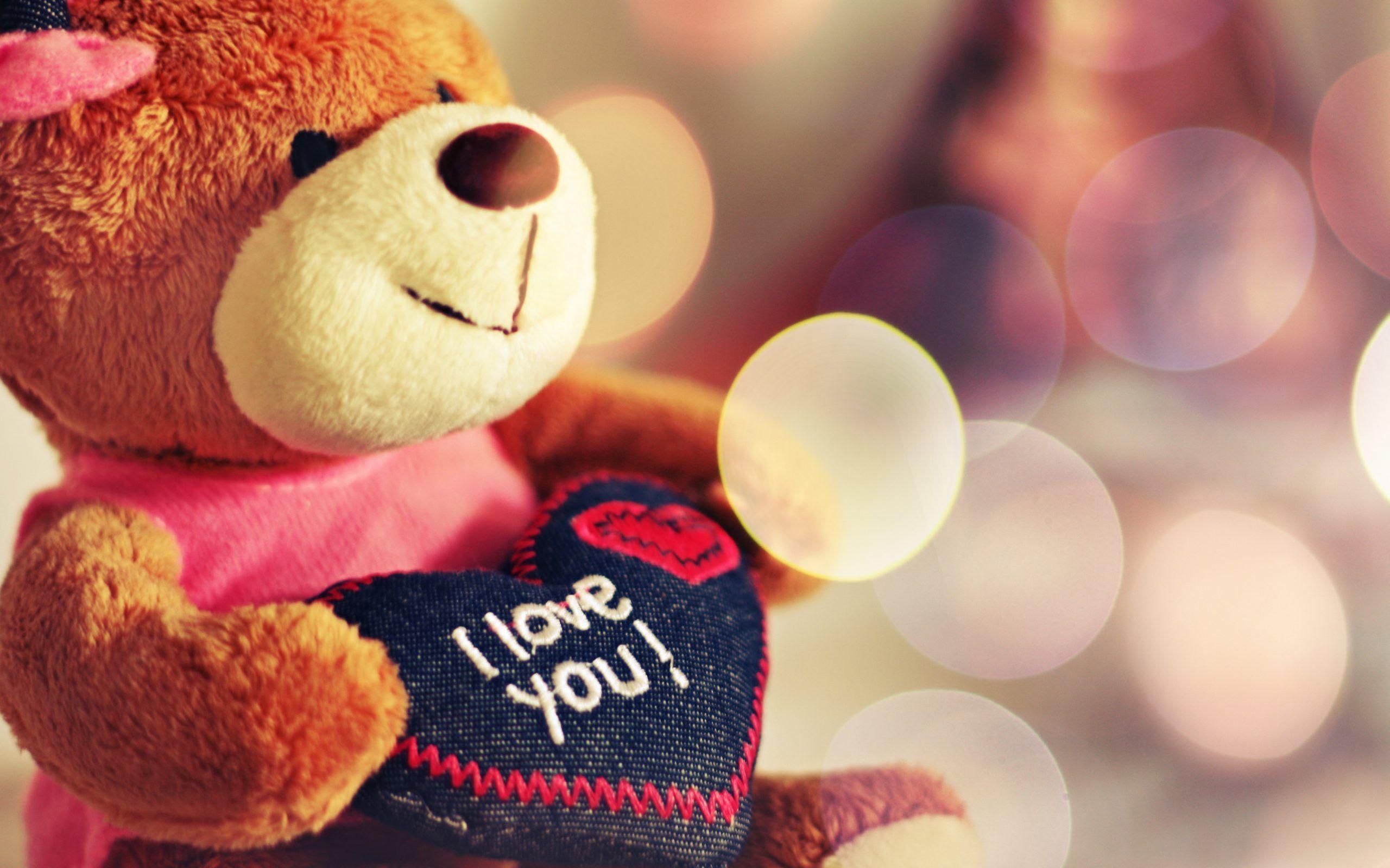 Wallpaper download of love - Cute Teddy Bear Love Wallpaper Wallpaper Download