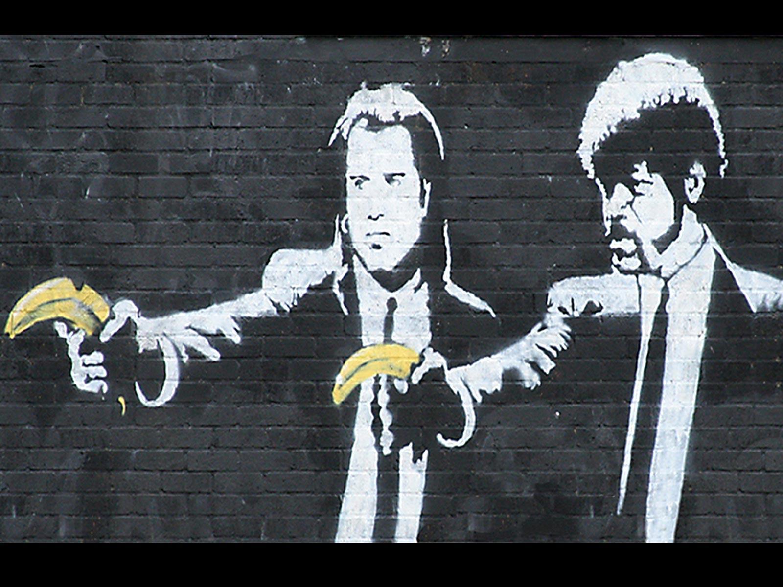 Banksy Graffiti Wallpapers - Wallpaper Cave