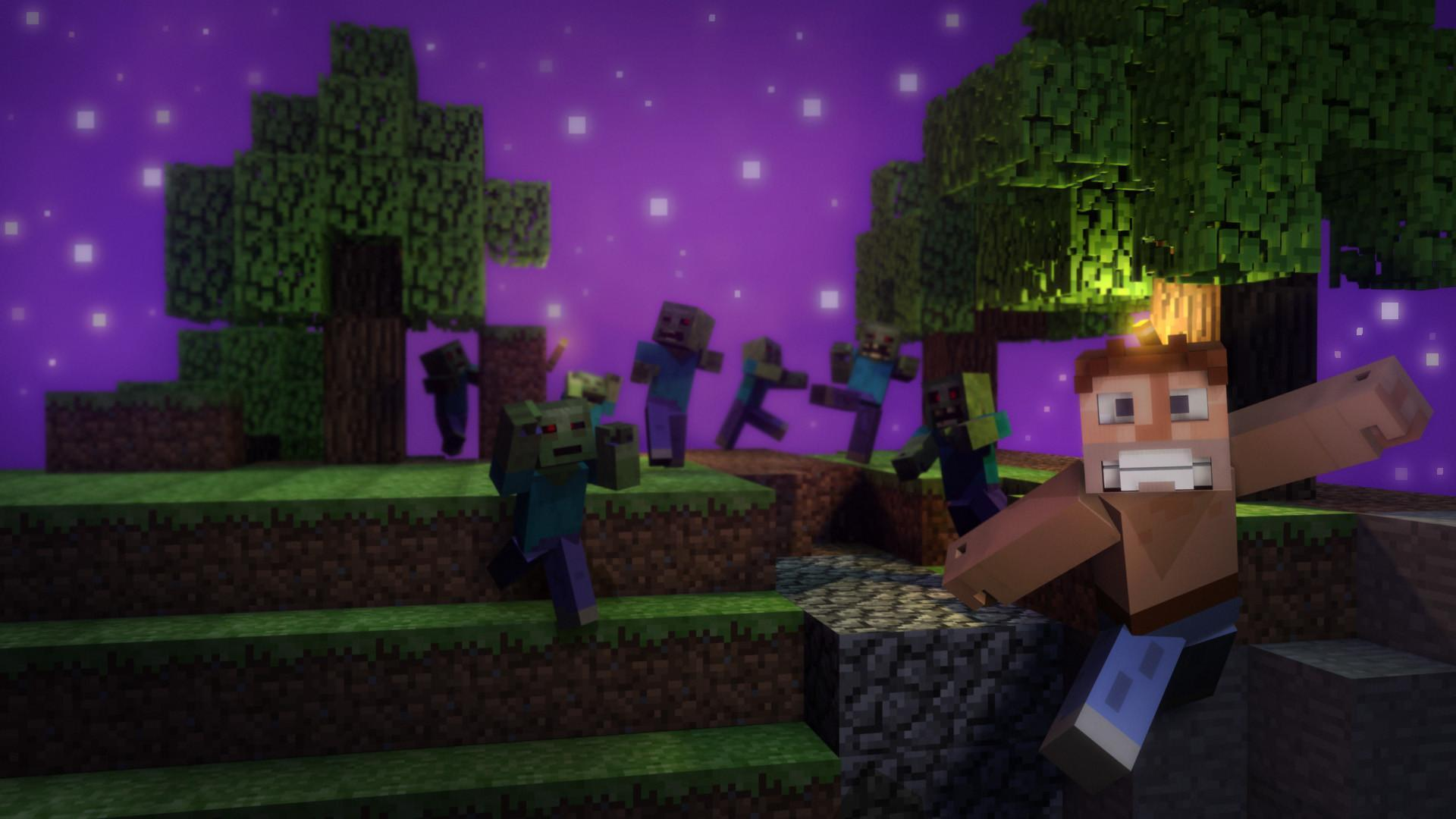 cool wallpapers of minecraft zombies - photo #12
