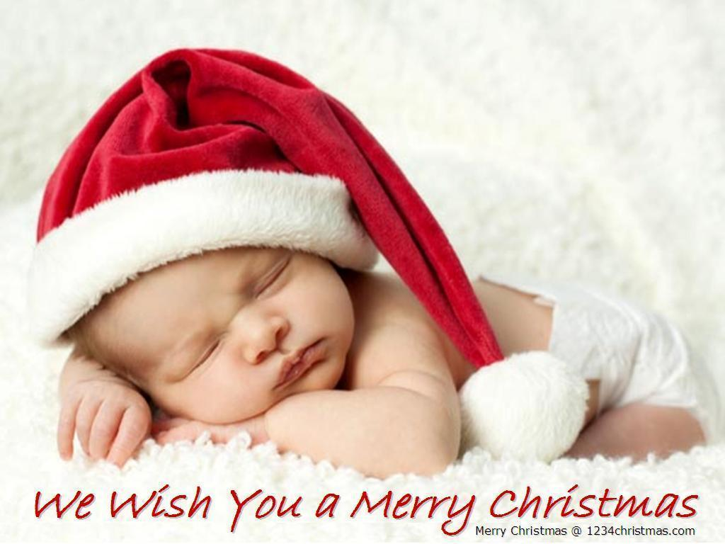 Xmas Christmas Baby Wallpapers for FREE Download