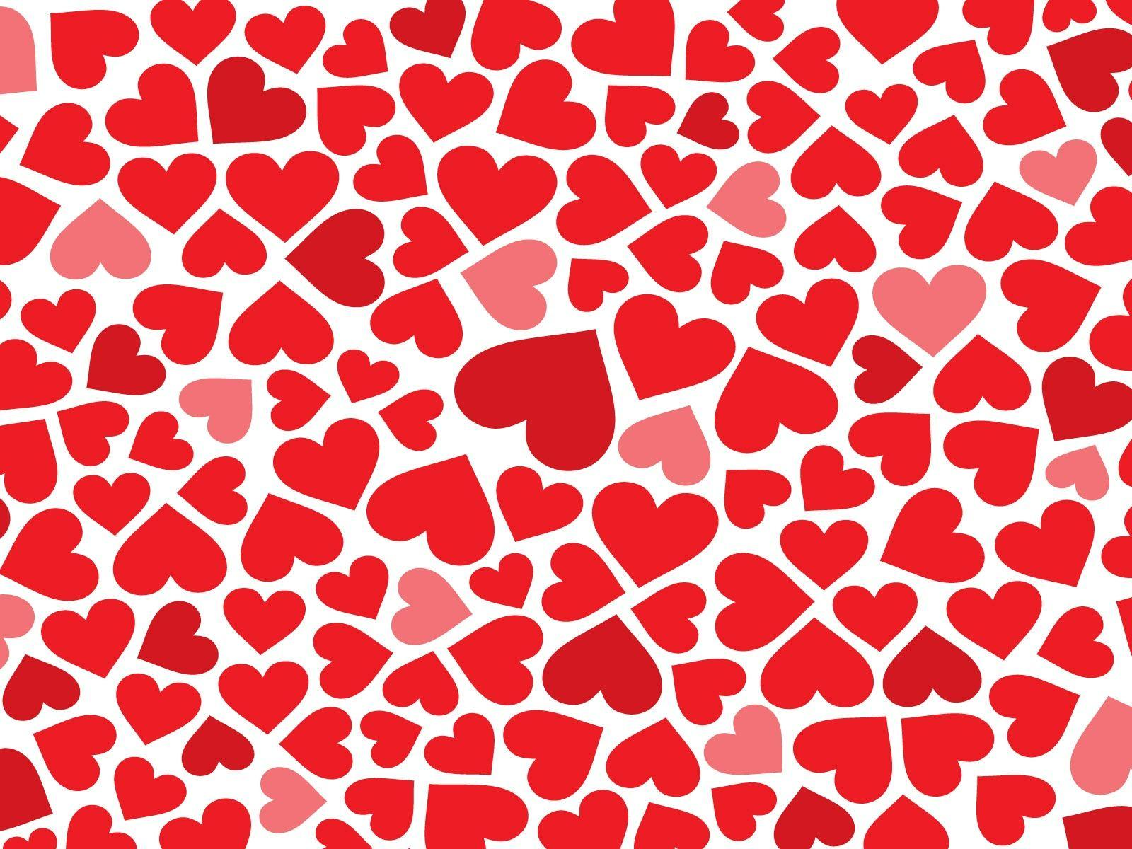 Red Hearts Backgrounds