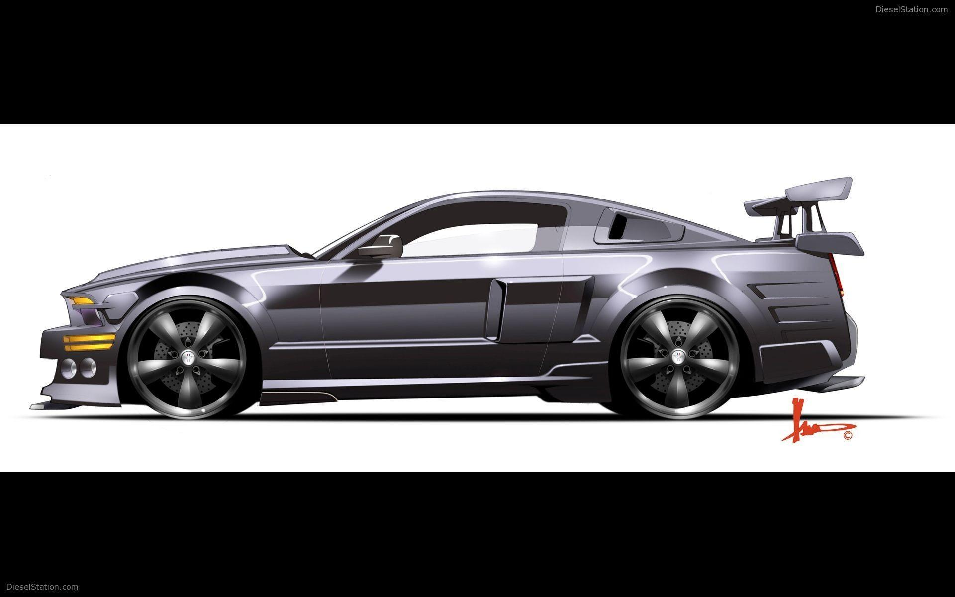 Knight Rider Shelby Mustang GT500KR Widescreen Exotic Car Picture