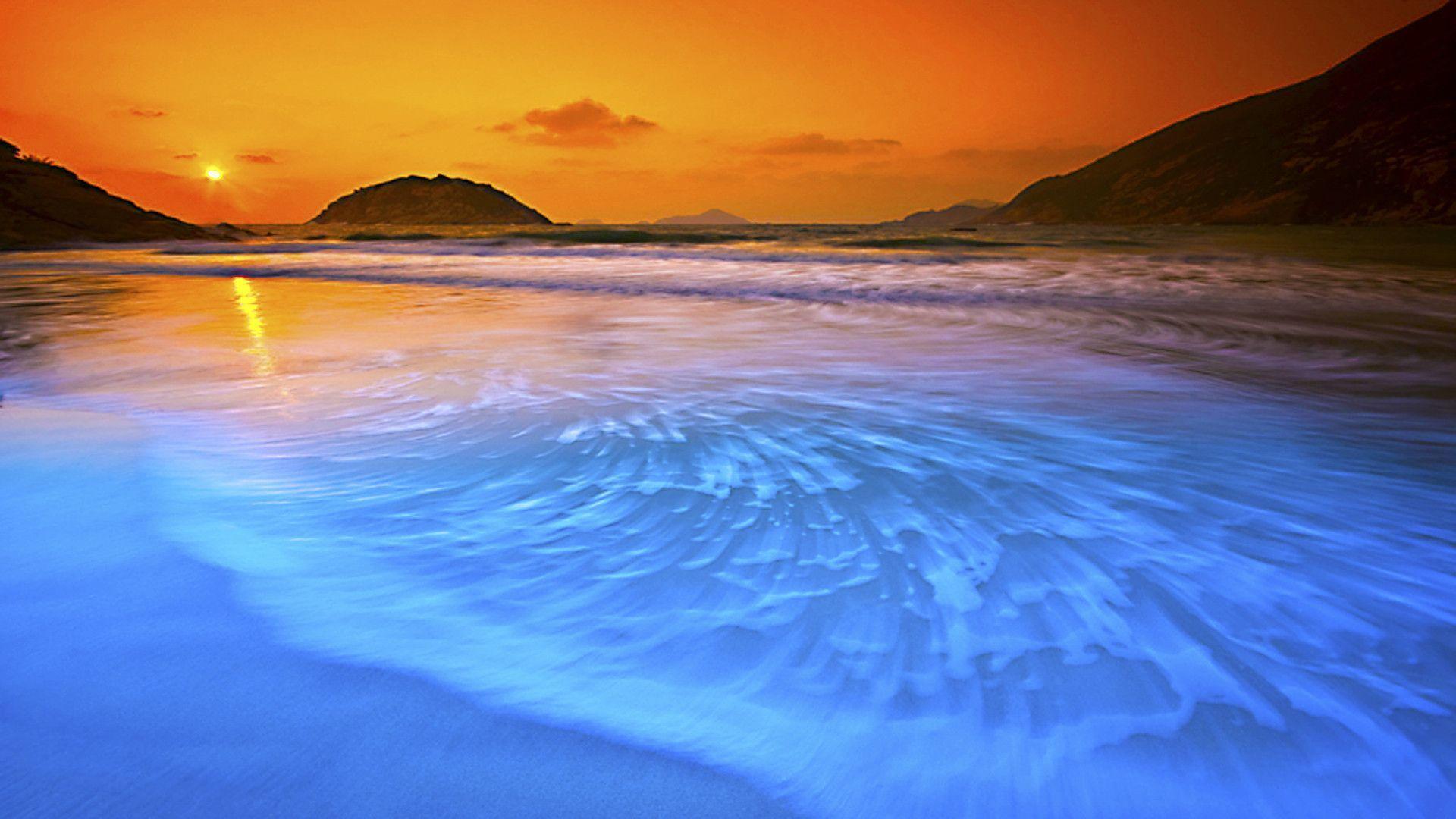 Cool Beach Wallpaper: Cool Sunset Backgrounds