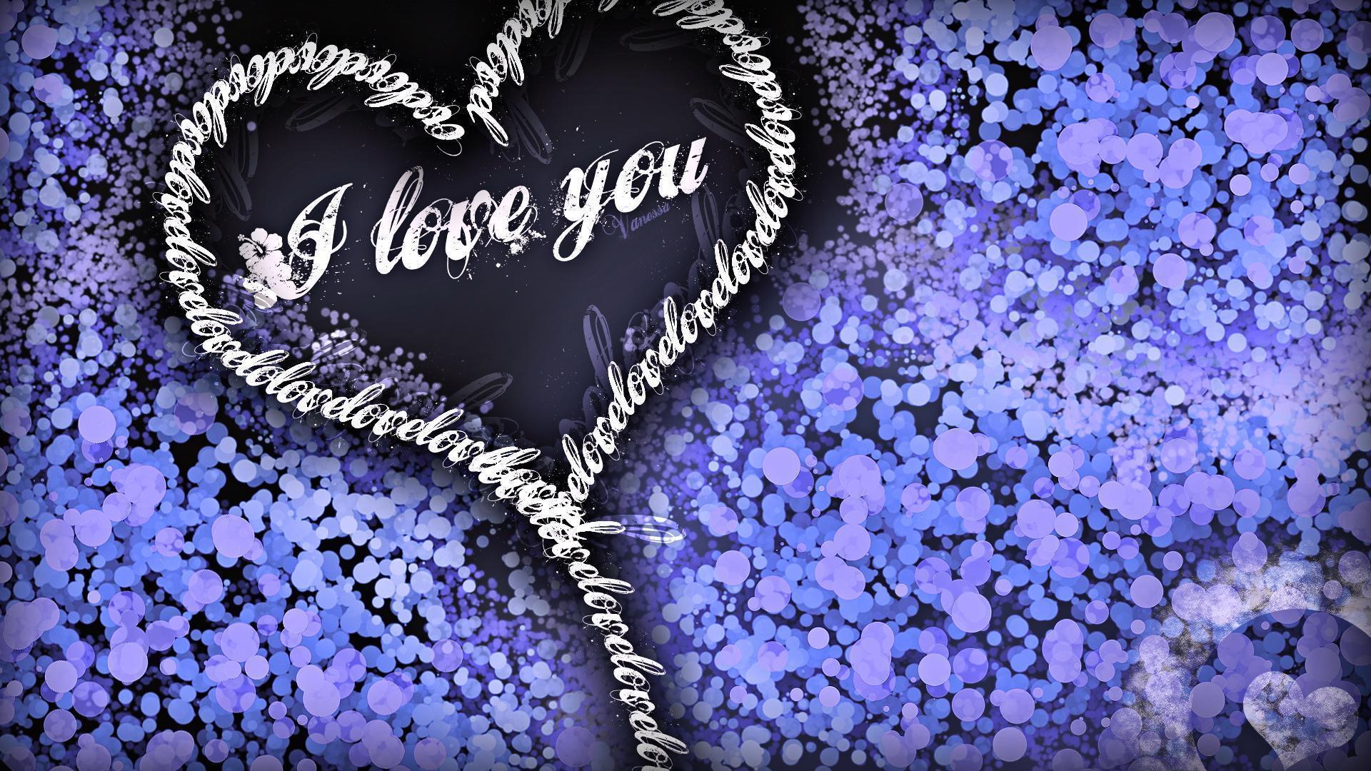 wallpaper purple hearts wallpapers - photo #38