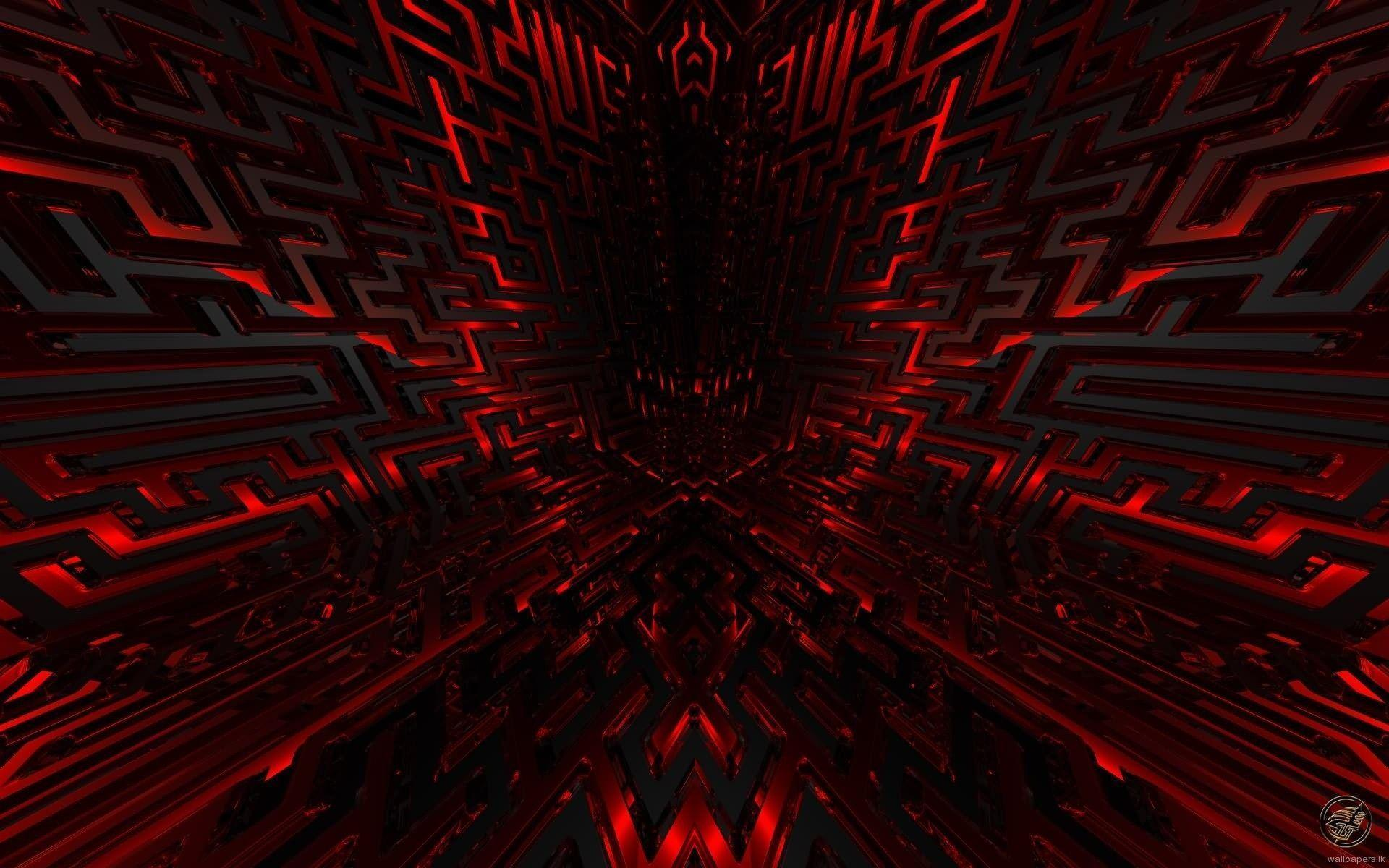 Black and red wallpapers hd wallpaper cave for Black 3d wallpaper