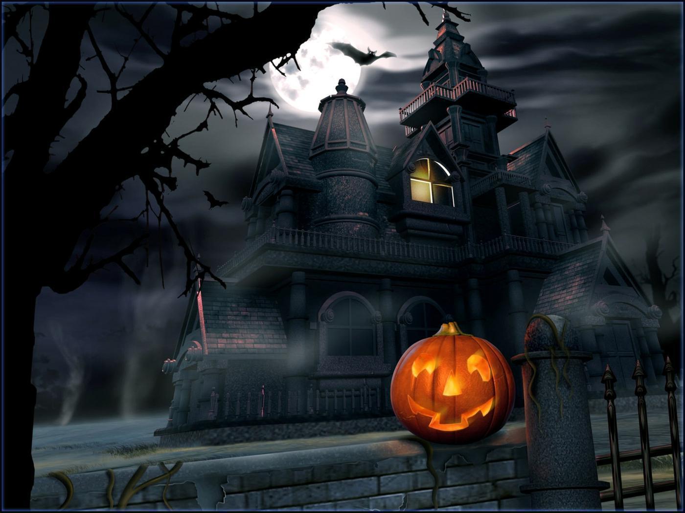 Halloween Desktop Wallpapers Free - Wallpaper Cave