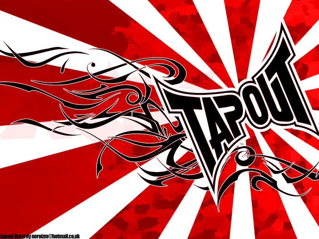 tapout logo red mma - photo #17