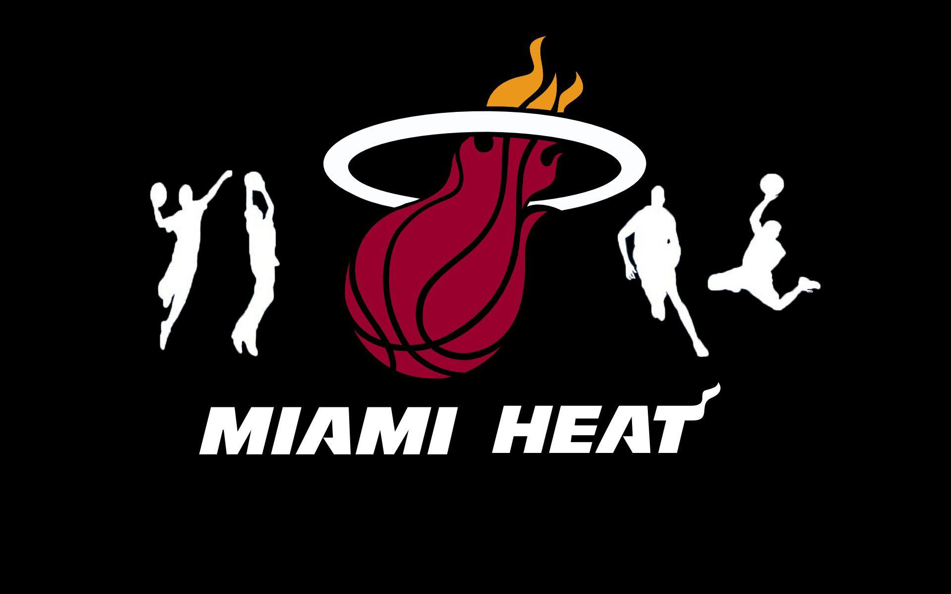 Miami Heat Logo Wallpapers - Wallpaper Cave