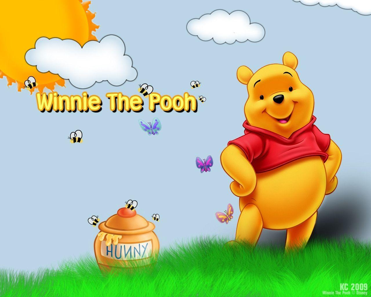 Pix For > Winnie The Pooh Background