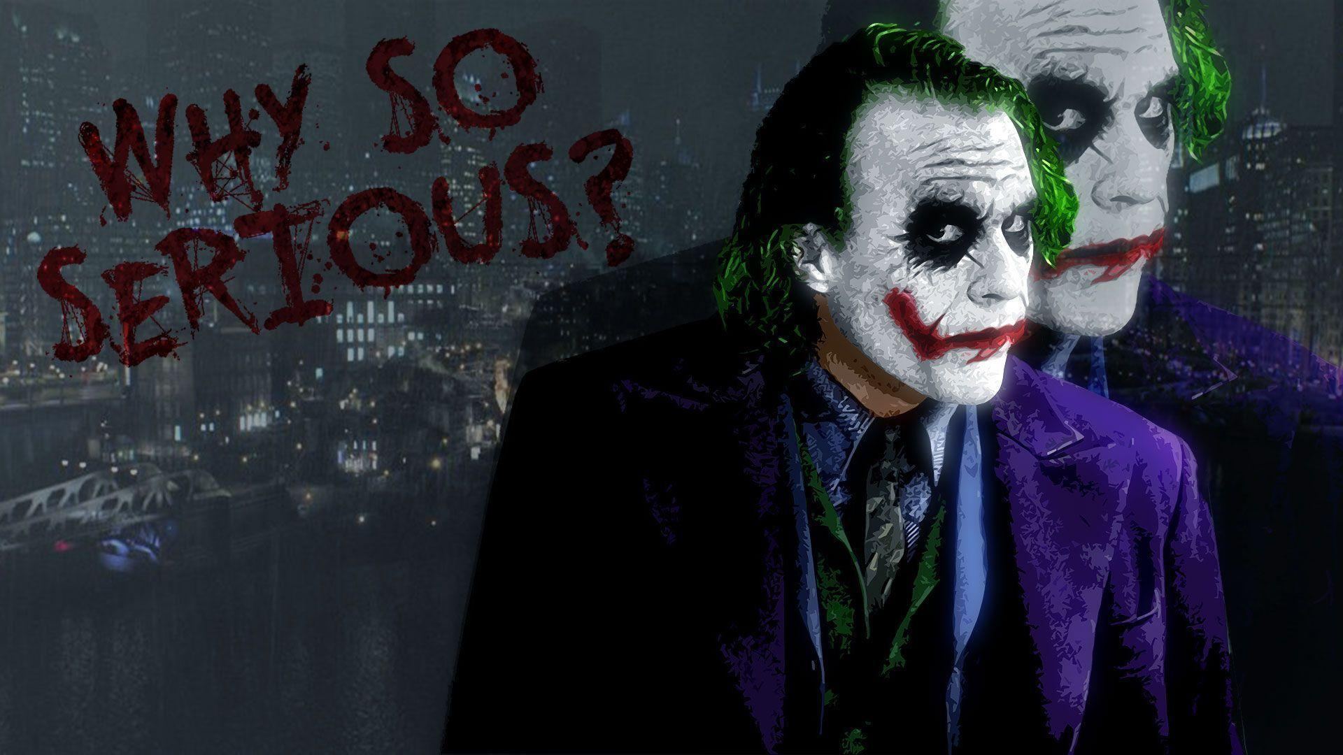 Batman Joker Wallpapers - Wallpaper Cave