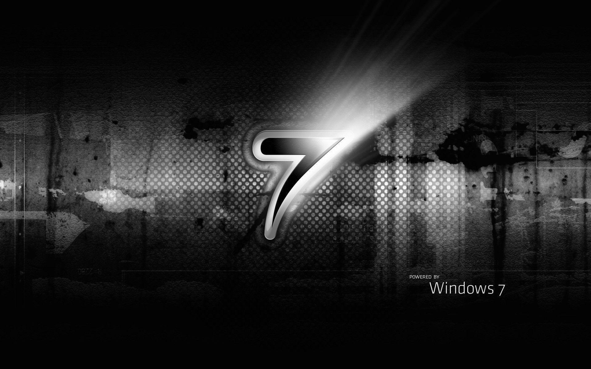 Dark Windows 7 Wallpapers