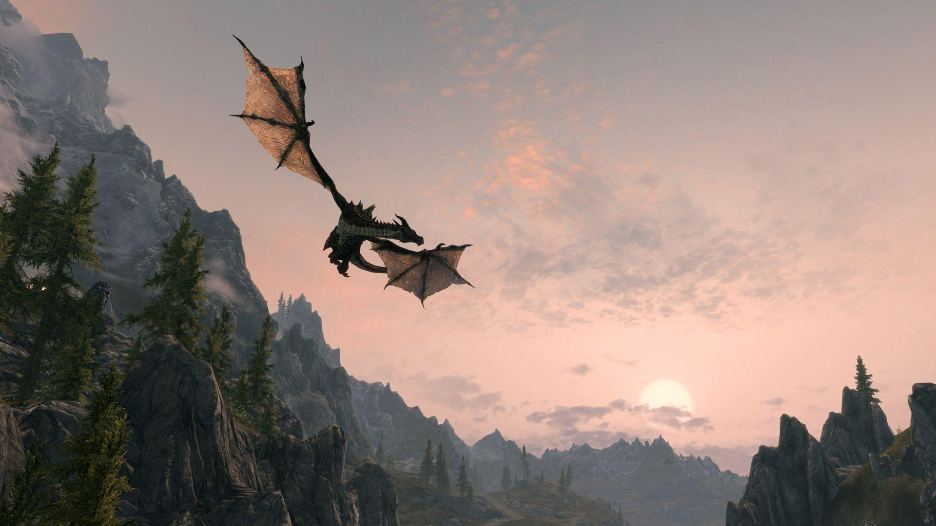 skyrim hd wallpapers 1366x768 - photo #37