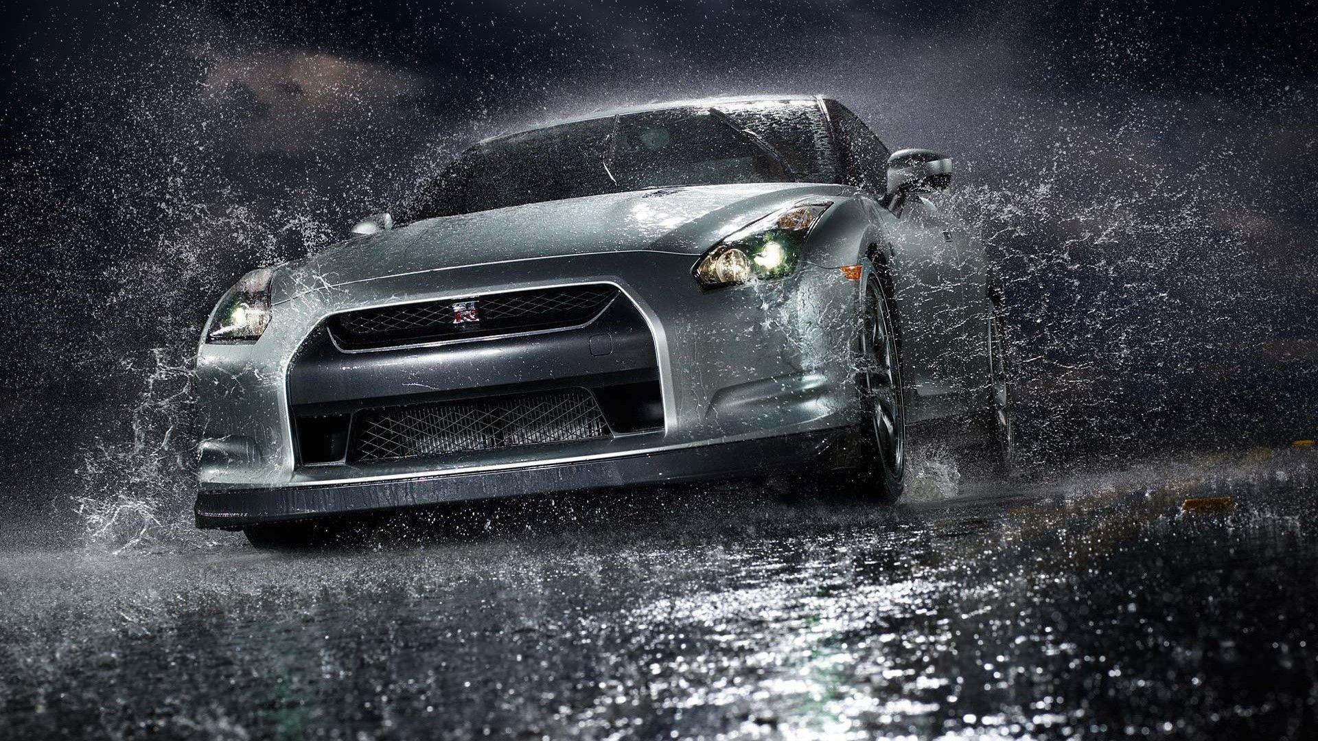 Nissan Gtr Rain Wallpaper Wallpaper | A HD Car Wallpaper
