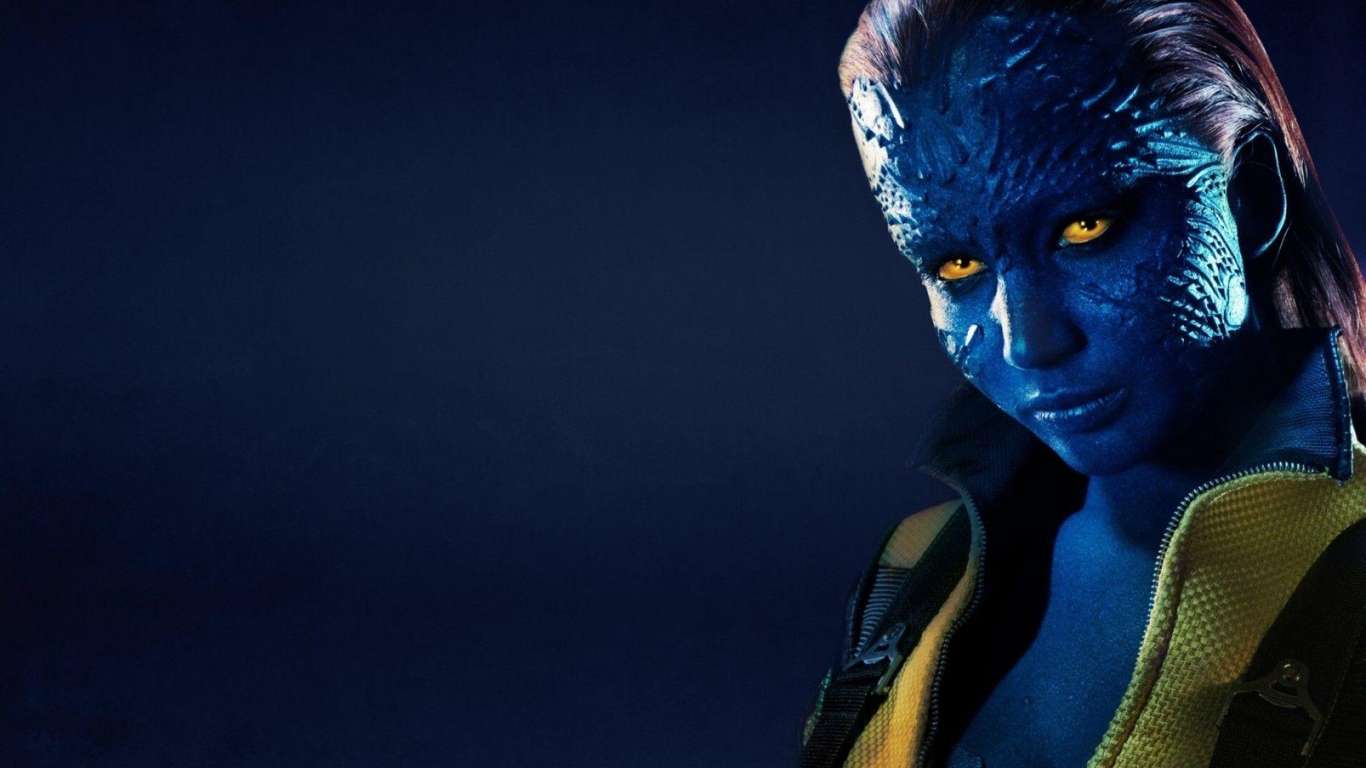 Jennifer Lawrence as Mystique | Wallpic.us
