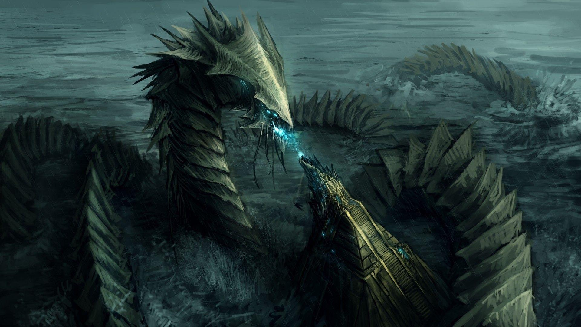 Water Dragon Wallpapers - Wallpaper Cave