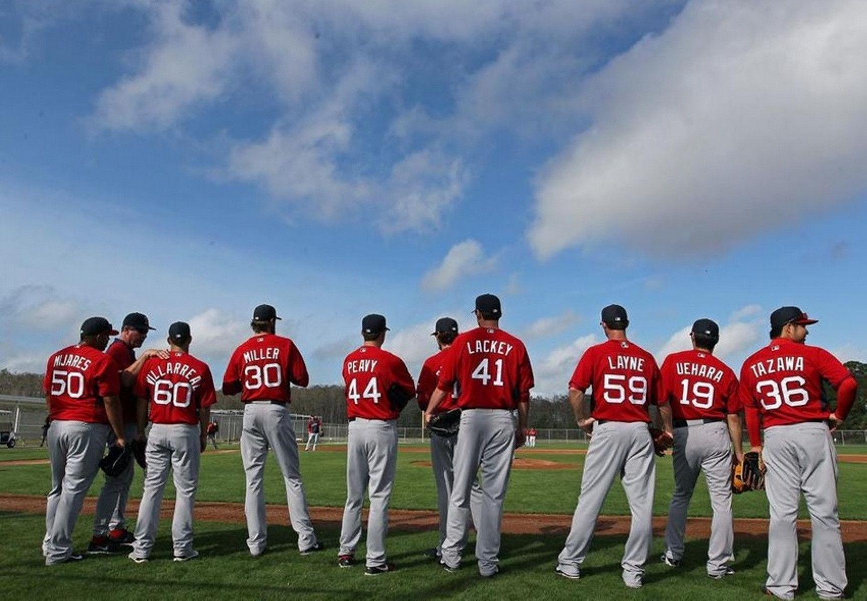 Boston Red Sox 2014 Players Sport Wallpapers HD