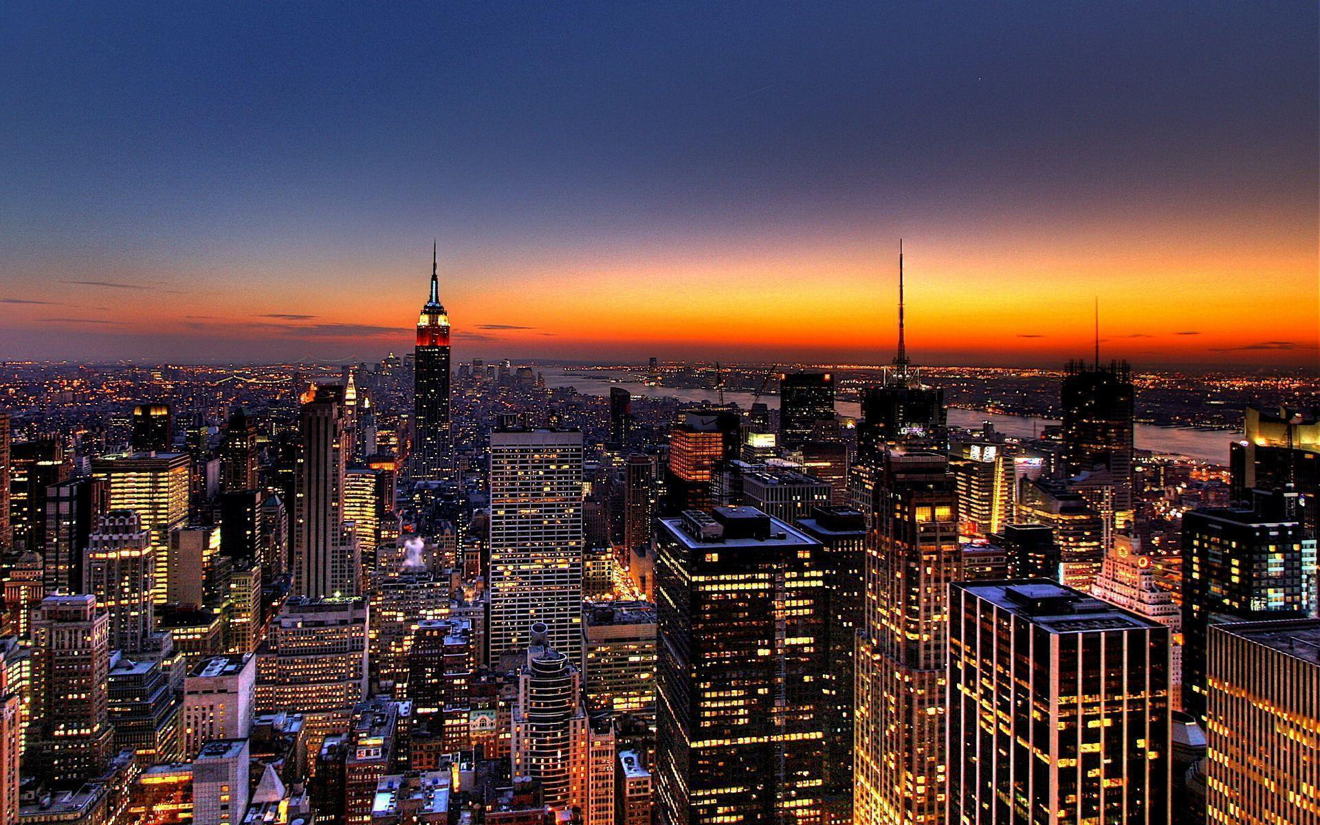 New York Skyline desktop wallpapers