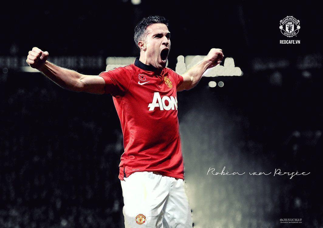 Robin Van Persie Manchester United in HD wallpapers