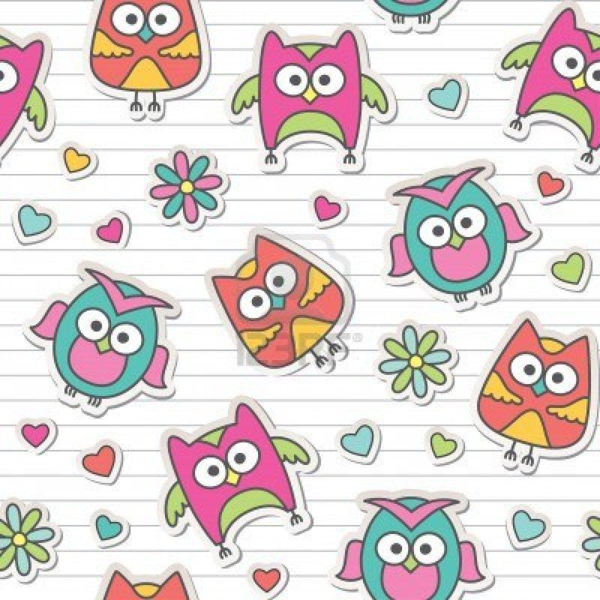 Cute Owl Backgrounds - Wallpaper Cave