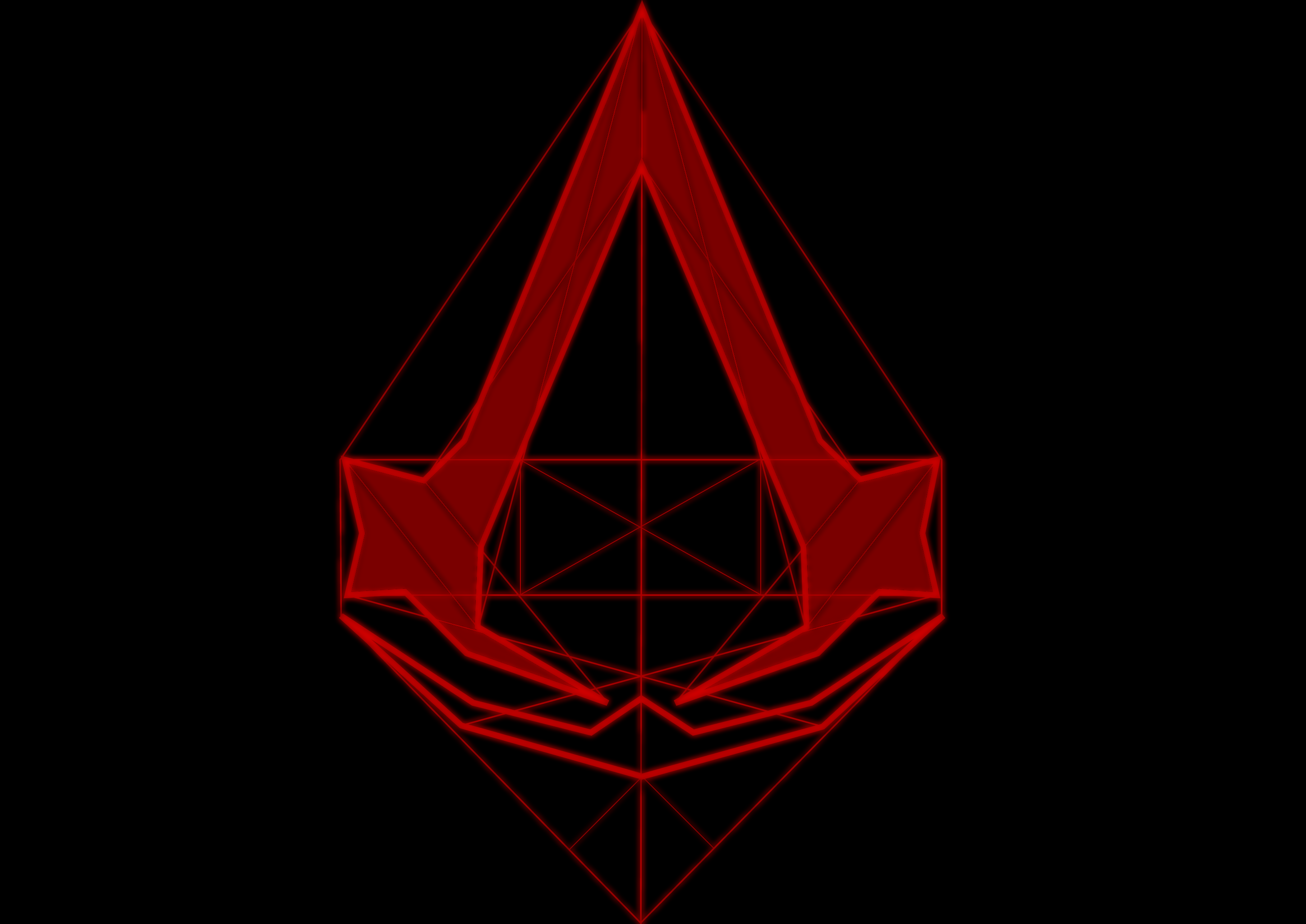 Assassins Creed Logo Red