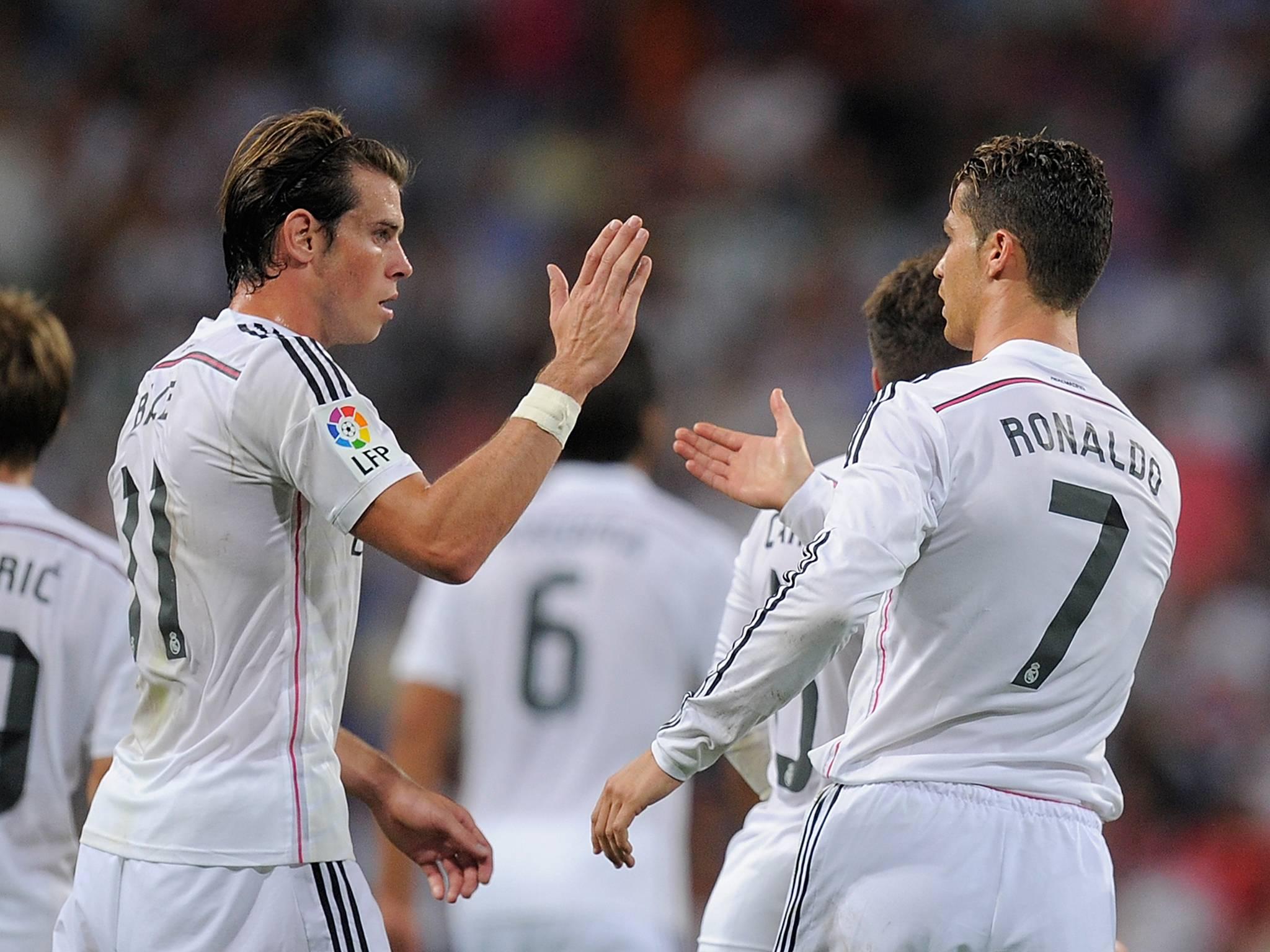 Cristiano Ronaldo Of Real