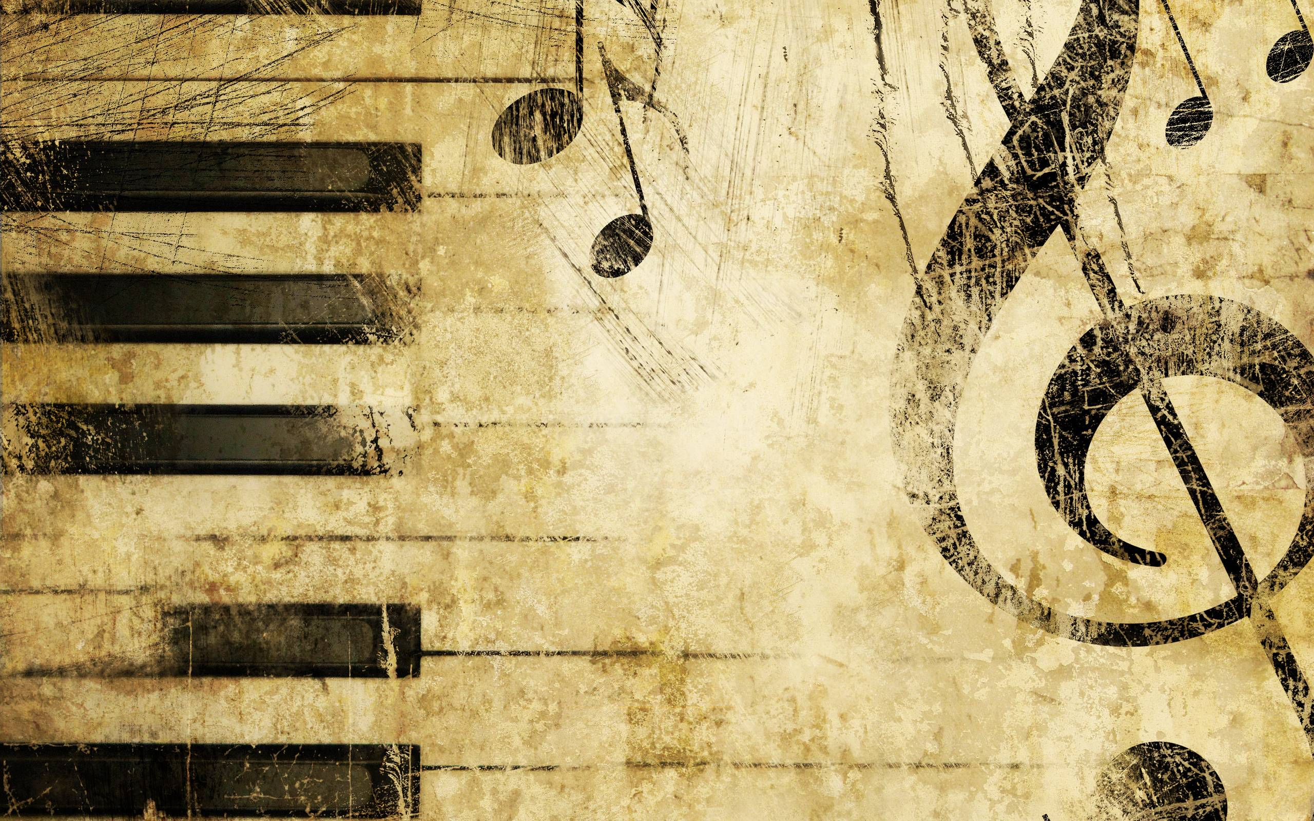 Wallpapers For > Musical Notes Wallpaper For Walls