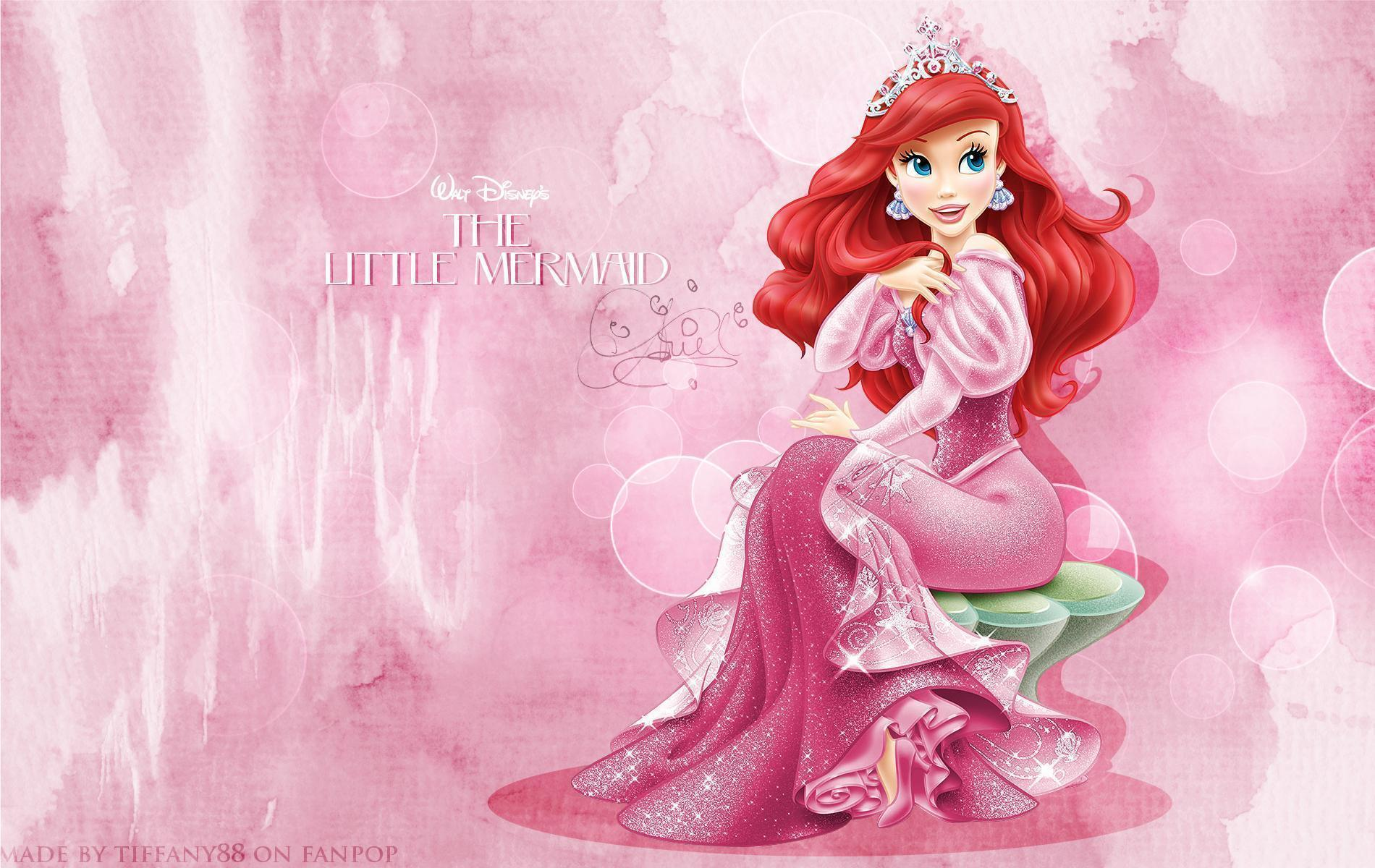 wallpapers princess ariel wallpaper cave