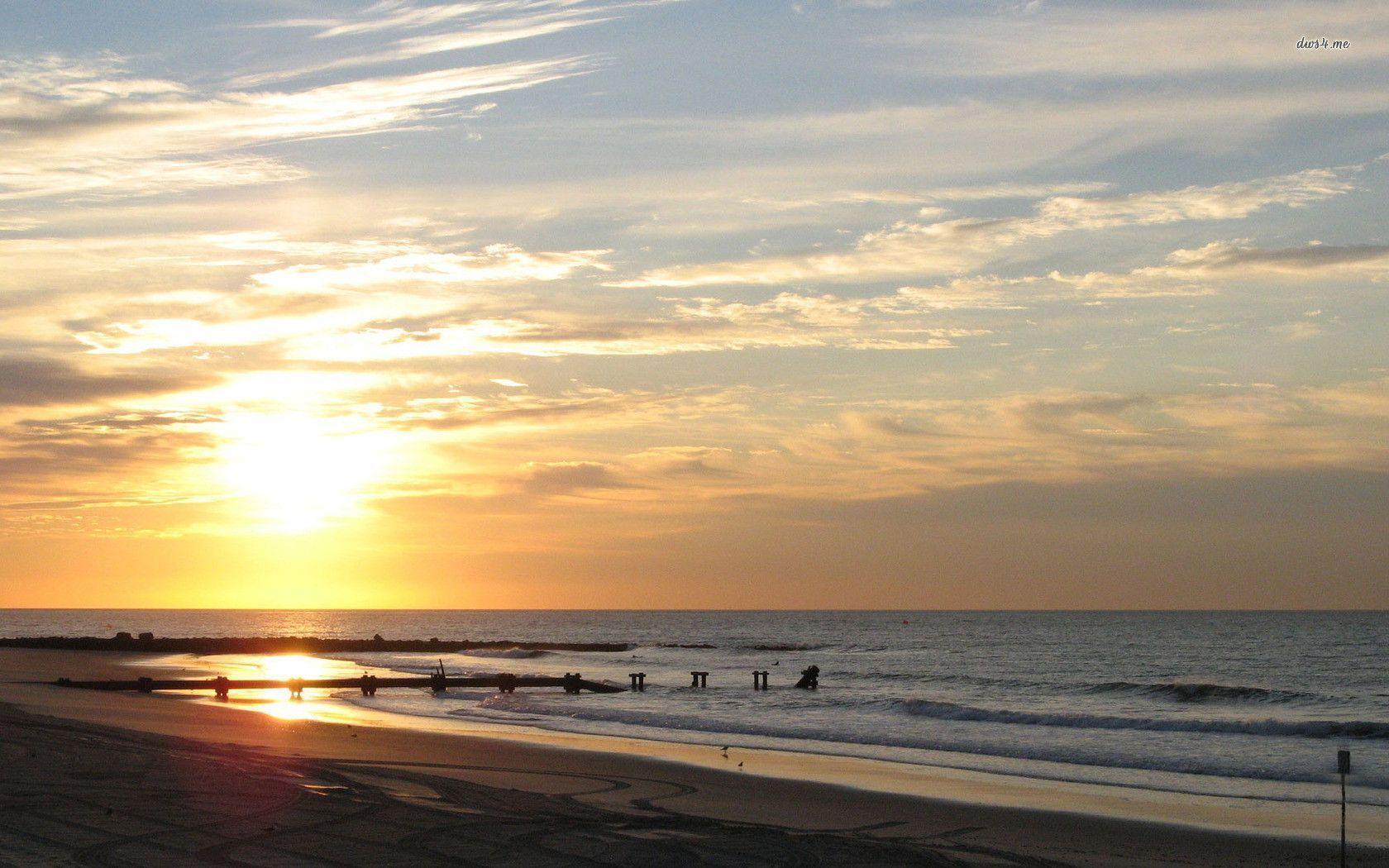 Beach Sunrise Wallpapers