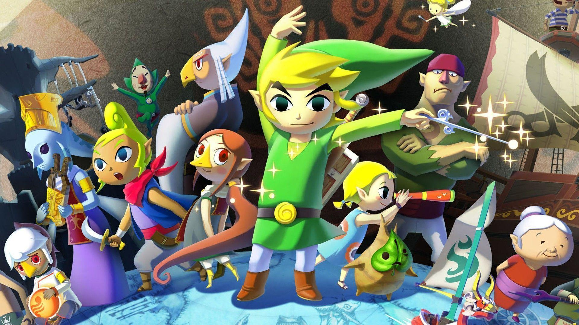 Image result for the wind waker hd wallpaper