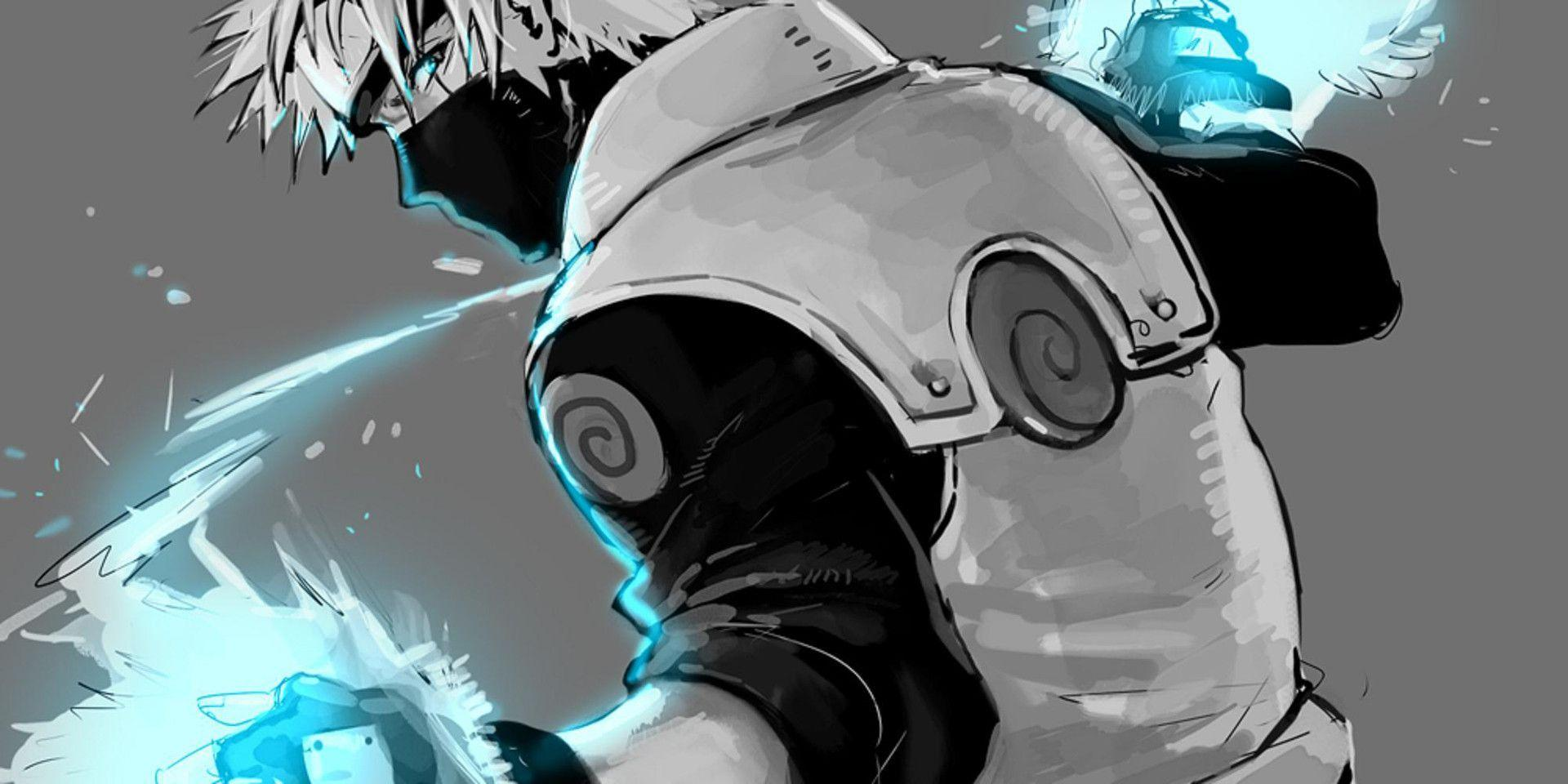 Kakashi chidori wallpapers wallpaper cave - Kakashi sensei wallpaper ...