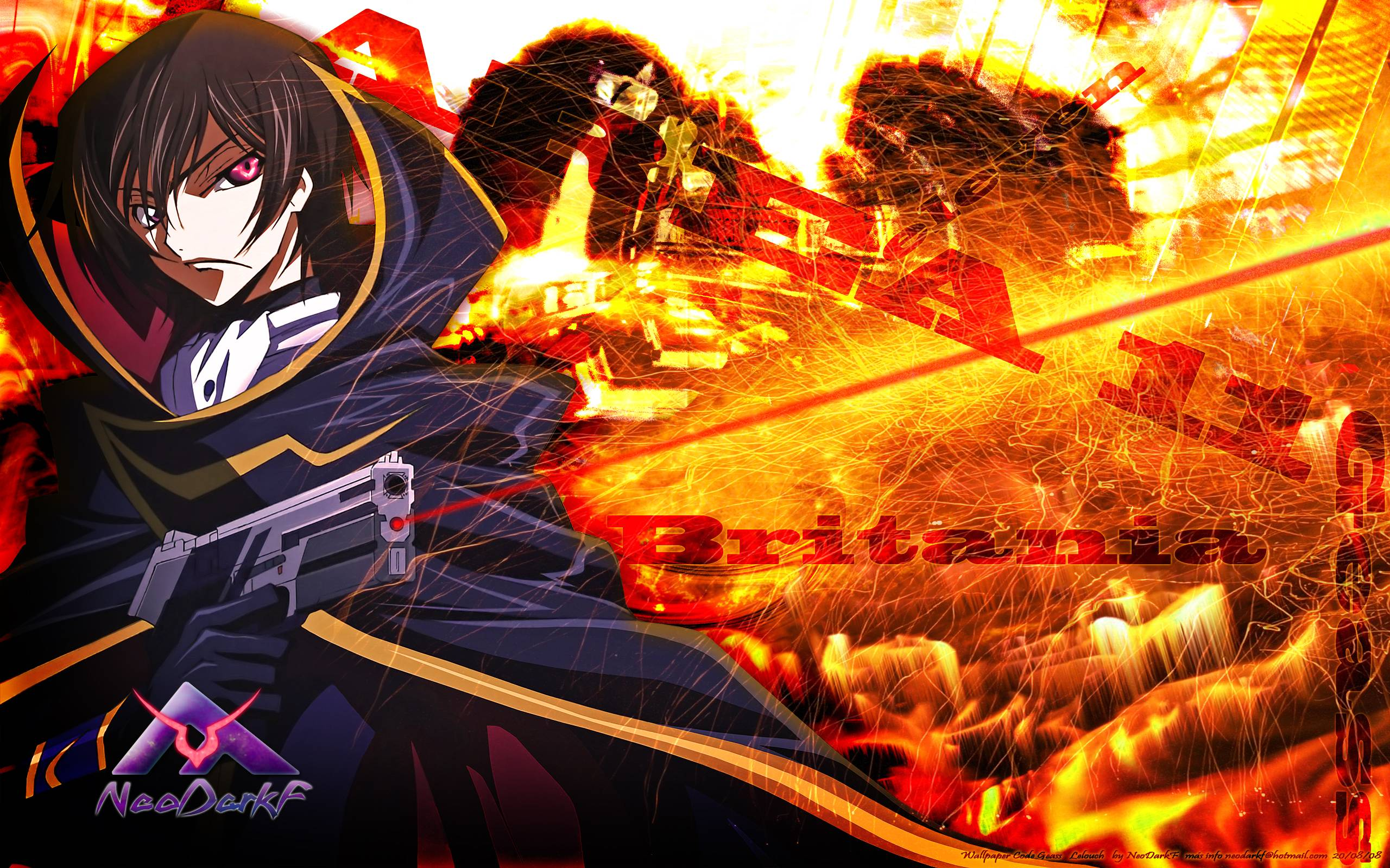 Download Code Geass Wallpapers 2560x1600