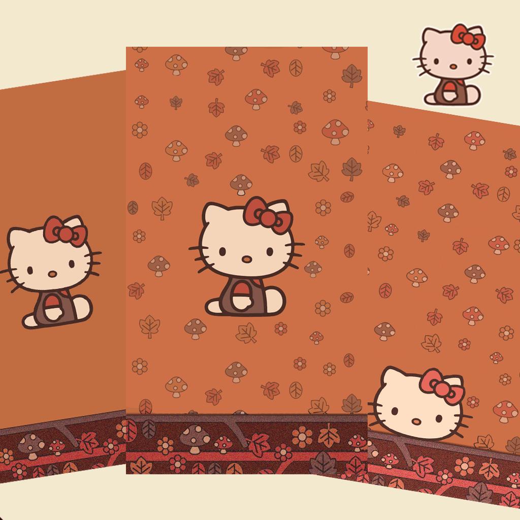 hello kitty fall wallpaper - photo #4