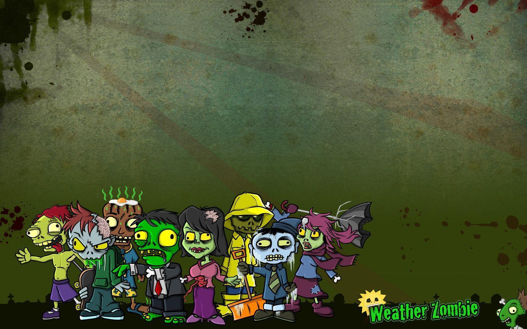 Cute Zombie Wallpapers - Wallpaper Cave