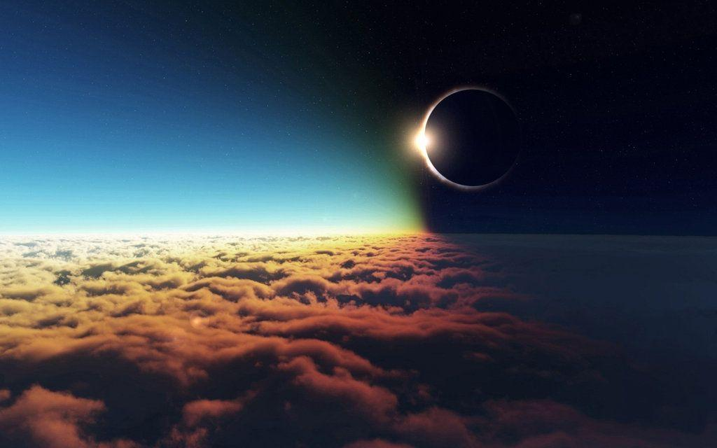 Excellent Outer Space Eclipse Wallpapers By Feliskachu Drzhc HD